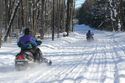 Duck Creek Area - Snowmobile Riding